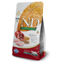 FARMINA N&D CAT LOW GRAIN Chicken&Pomegranate 0.3kg